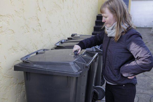 Julesæk til affald