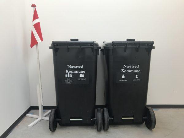 Nu bliver det nemmere at sortere affald i Næstved