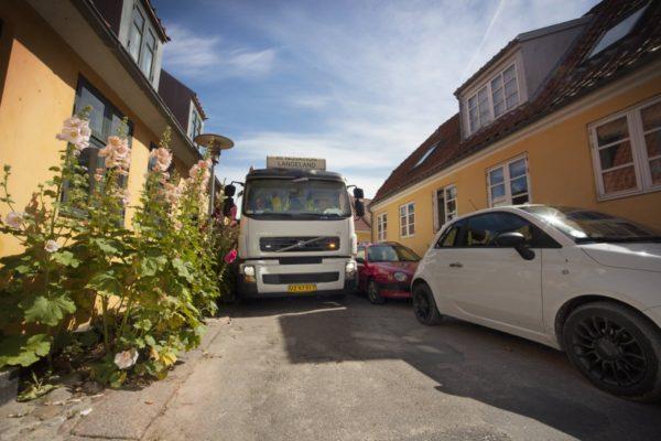 Afhentning af affald i indre by 12/10-15