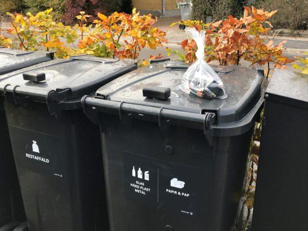 Mangler du at få hentet genbrug?