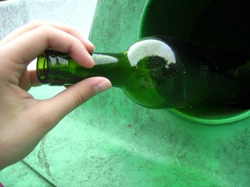 Forsøg med indsamling af glas